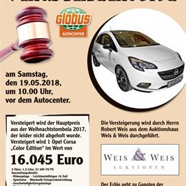 "Benefizauktion - Opel Corsa ""Color Edition""  I NEU"