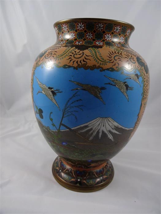 1 vase japan ca 26 cm objektdetail weis weis. Black Bedroom Furniture Sets. Home Design Ideas