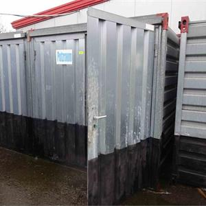 1 Materialcontainer, ca. 2,50m