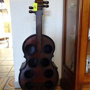 "1 Flaschenregal ""Violine"""
