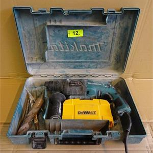1 Bohrhammer Makita HR2230, in Koffer
