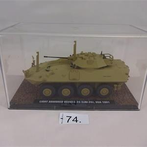 1 Fahrzeugmodell Light Armored Vehicle- 25 (LAU-25), USA 1991