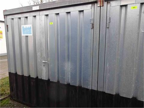 1 Materialcontainer ca. 2,50m